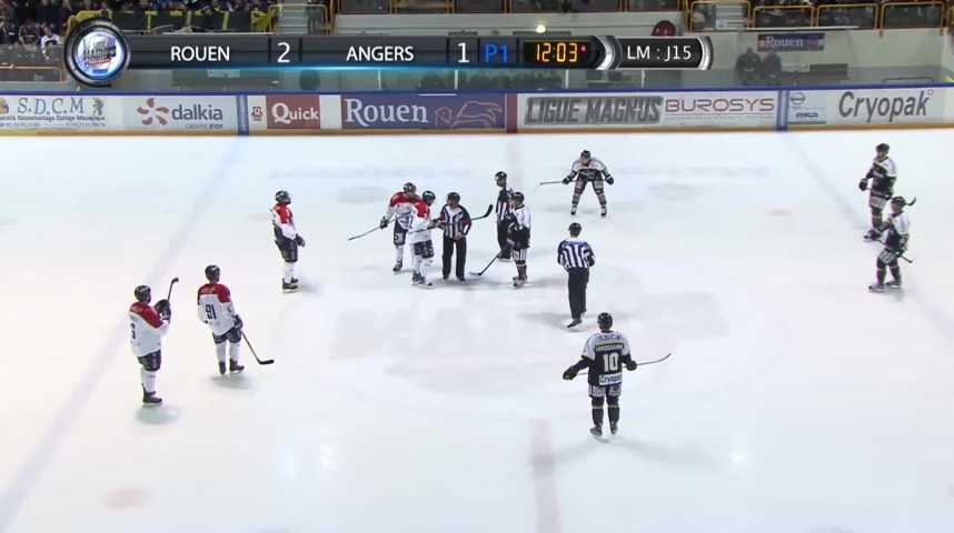 100% Dragons - Match Rouen vs Angers