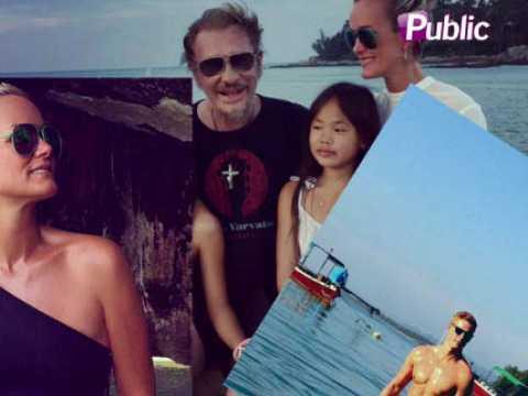 Exclu Vidéo : Matthieu Delormeau VS Johnny Hallyday : Leurs vacances paradisiaques en Thaïlande !