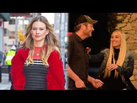 Behati Prinsloo dit que Blake Shelton et Gwen Stefani sont parfaits l'un pour l'autre