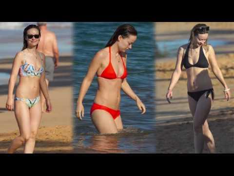 Olivia Wilde est sensationnelle en bikini à Hawaï