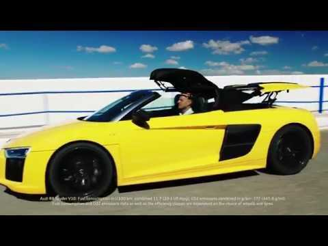 Audi R8 Spyder V10 - The allure of open-top driving | AutoMotoTV