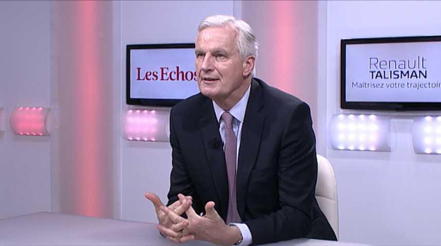 """Illustration pour la vidéo Michel Barnier : """"Voter Marine Le Pen en 2017, c'est sortir de l'Europe"""""""