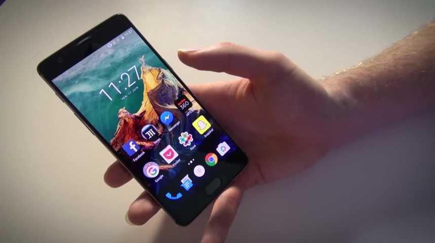 Illustration pour la vidéo Test Tech : le OnePlus 3, un smartphone qui impressionne