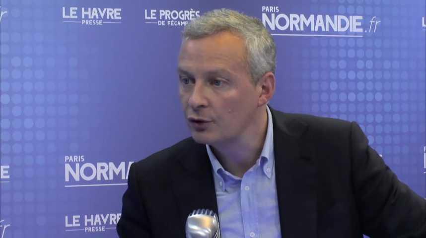 Bruno Le Maire, Député de la 1re circonscription de l'Eure