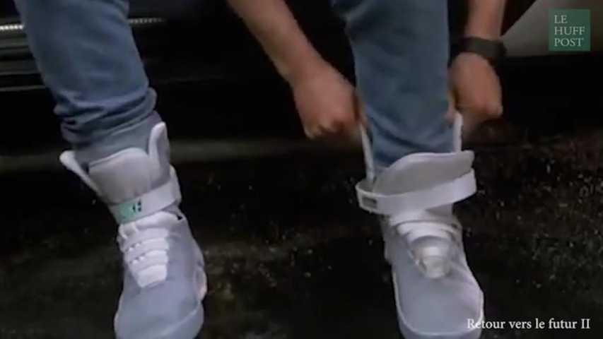 nike chaussures retour vers le futur