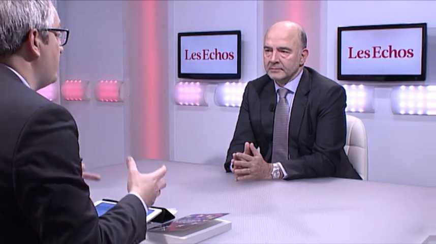 """Illustration pour la vidéo Pierre Moscovici : """"Je suis favorable à un Budget de la Zone euro"""""""