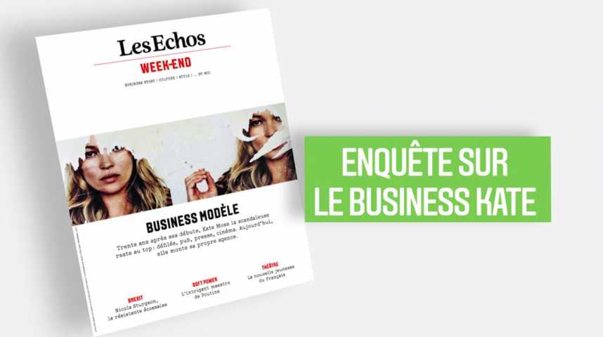Illustration pour la vidéo Les Echos Week-End : Business Kate