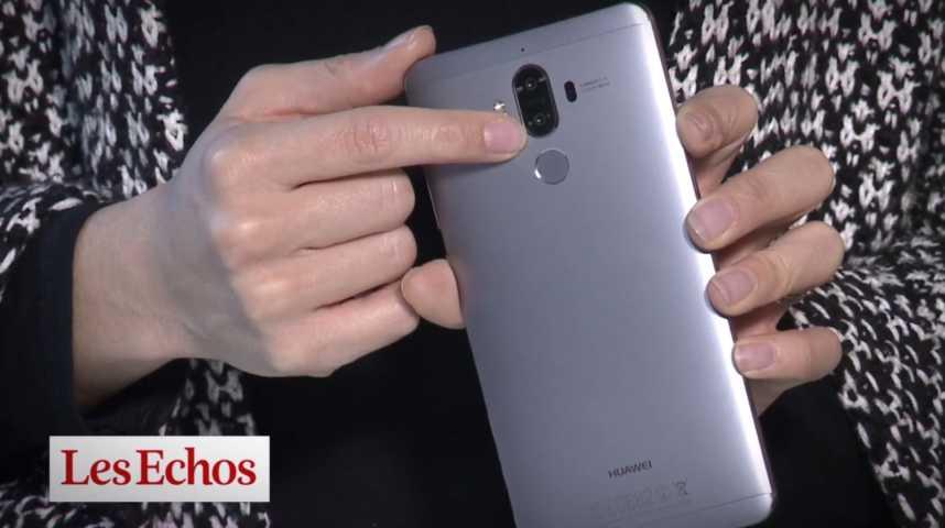 Illustration pour la vidéo Le Huawei Mate 9, un smartphone haut de gamme, performant et endurant