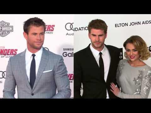 Chris Hemsworth parle de la relation de Liam et Miley Cyrus