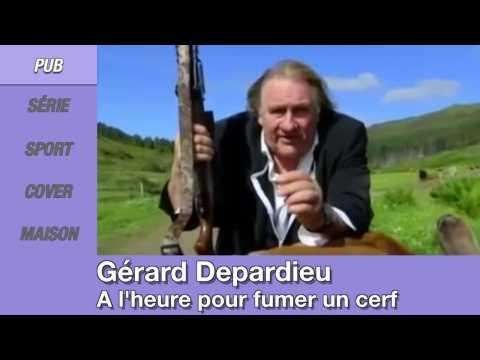 Zap People: Gérard Depardieu tue un cerf, Michael Phelps se met nue pendant un match, Sia et Nathalie Portman chantent Iko Iko