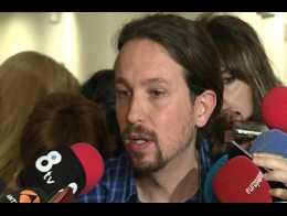 Iglesias espera que PSOE acepte estudiar la alianza para el Senado