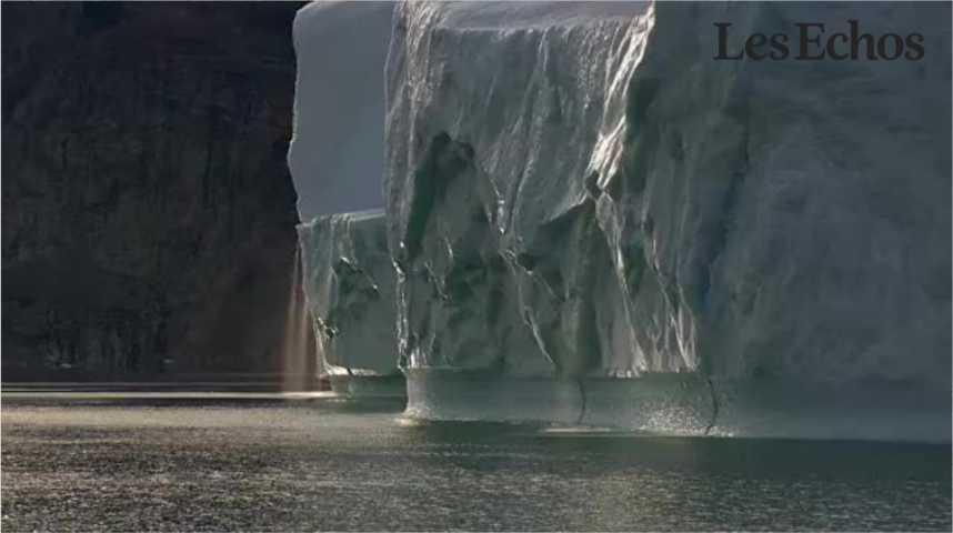 Illustration pour la vidéo Les glaces du Groenland fondent plus vite que prévu