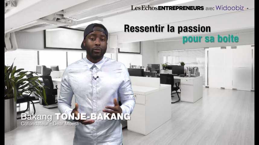 Illustration pour la vidéo Ressentir de la passion pour son projet, une réelle plus-value, par Bakang Tonje-Bakang de DearMuesli