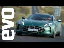 Aston Martin One 77 Drive   Evo Diaries World Exclusive Review