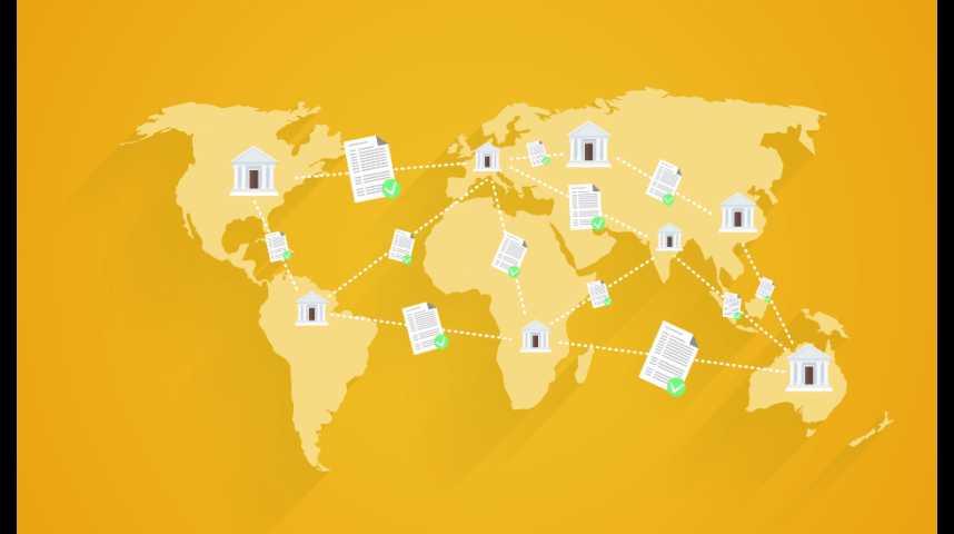 Illustration pour la vidéo Comment la blockchain veut révolutionner les transactions numériques