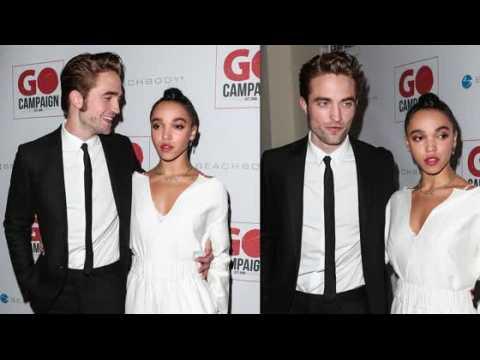 Robert Pattinson et FKA Twigs à un gala de charité