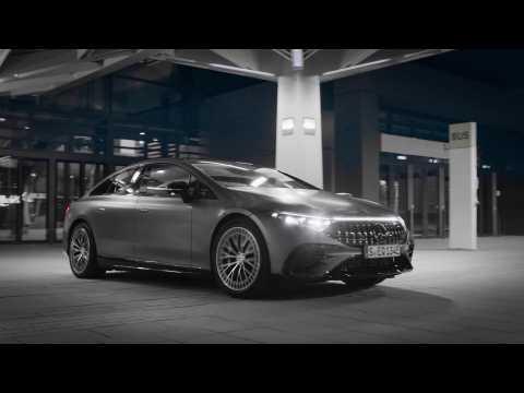 The new Mercedes-AMG EQS 53 4MATIC+ Trailer