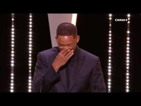 Festival de Cannes 2017 : Will Smith imite avec humour Nicole Kidman (vidéo)