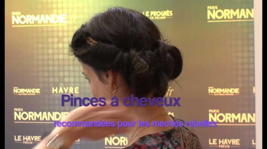 Tendances - Tuto - Le Chignon Grâce Kelly