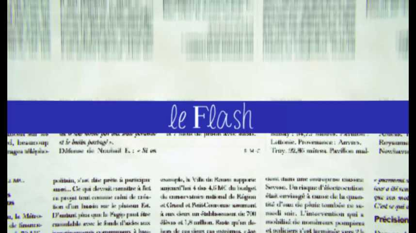 Le Flash du 30 août