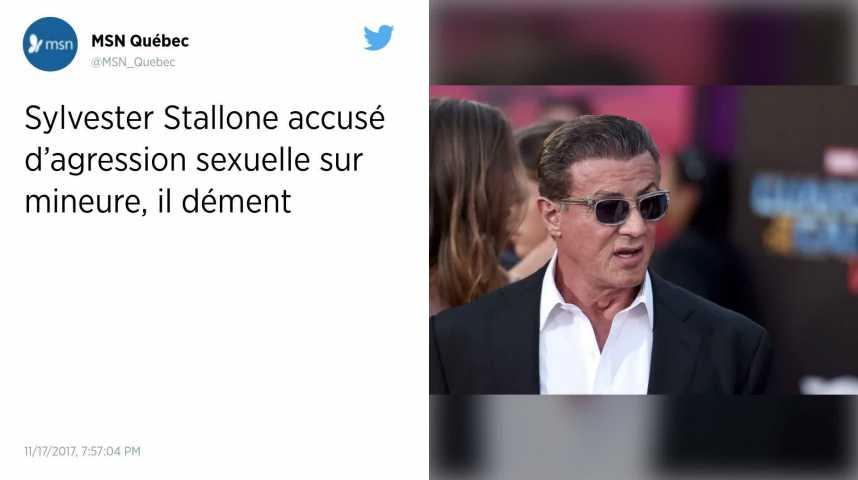Sylvester Stallone accusé de viol par une mineure dans les années 1980