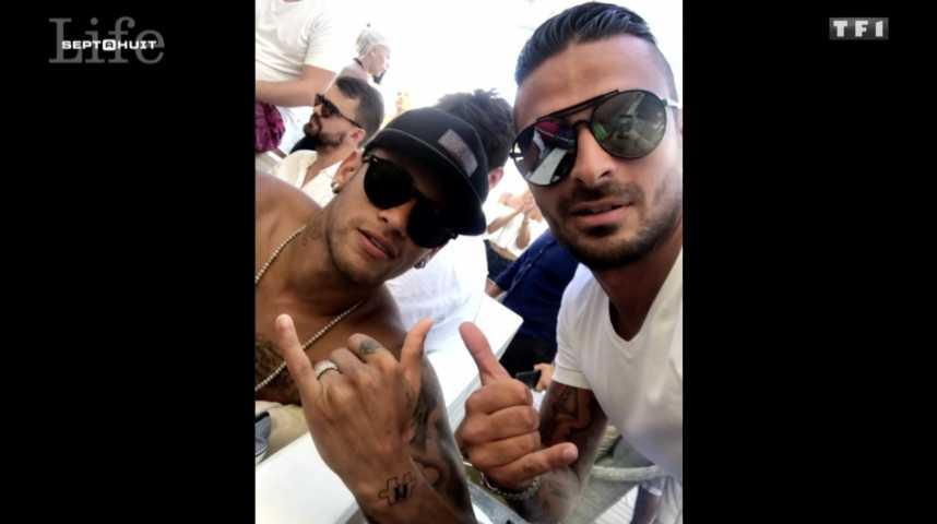 Julien Tanti des Marseillais parle de Neymar - ZAPPING PEOPLE DU 25/09/2017