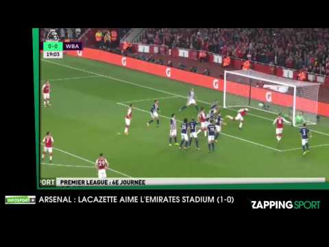 Zap Sport 26-09 : Lacazette double buteur avec Arsenal (2-0)