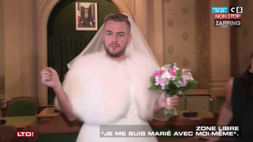 Jeremstar  Les images de son mariage avec lui,même ! (Vidéo)