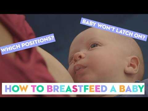 How To Breastfeed A Baby: A Midwife Shows Common Mistake New Mums Make