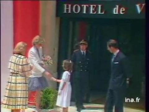 LADY DIANA et le Prince CHARLES D'ANGLETERRE au Festival du Film à Cannes