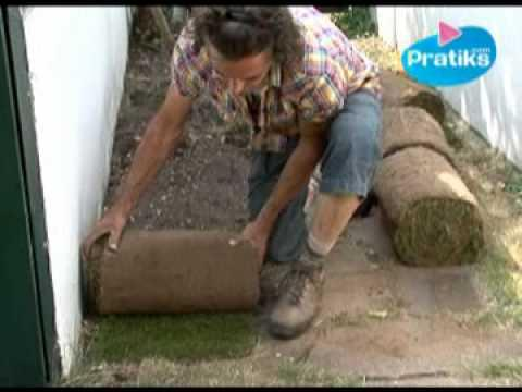 pelouses synth tiques pr sentation et pose how to install synthetic turf artificial lawn sur. Black Bedroom Furniture Sets. Home Design Ideas
