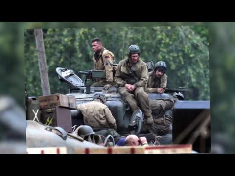 Le nouveau film de guerre de Brad Pitt et Shia LaBeouf