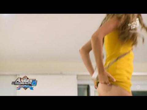 Dania (Les Anges 6) montre ses fesses - ZAPPING PEOPLE DU 13/06/2014