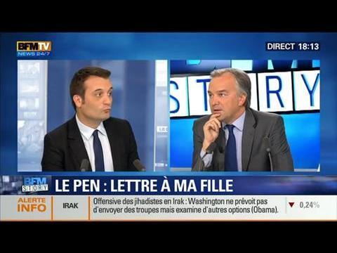 BFM Story: Jean-Marie Le Pen: Publication d'une lettre ouverte à sa fille - 13/06