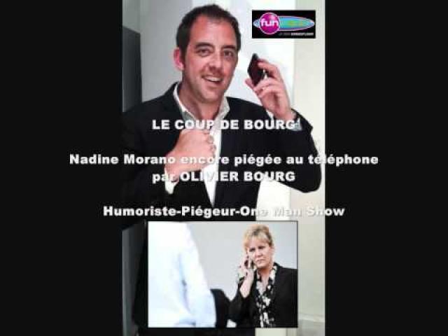 "Clash - Olivier Bourg piège Nadine Morano : ""Je travail pour la France moi !"" Canular Fun Radio"