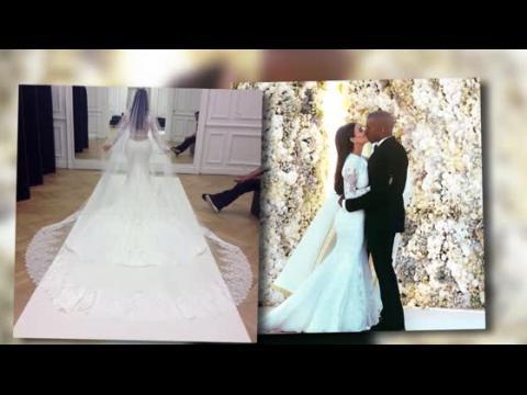 Kimye dévoile leurs premières photos de mariage