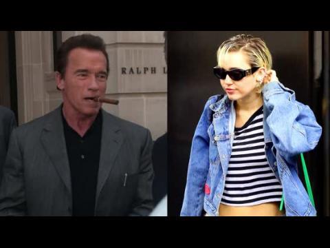 Arnold Schwarzenegger dit que Miley Cyrus est une personne fantastique
