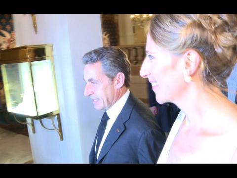 Exclu Vidéo : Nicolas Sarkozy, François Damiens, Michel Drucker... Tous présents pour soutenir Maud Fontenoy
