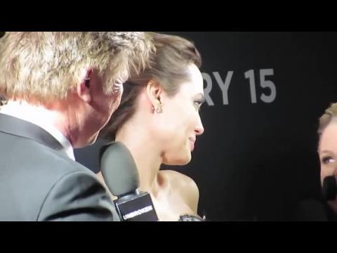 Angelina Jolie et Brad Pitt à la première mondiale d'Invincible à Sydney