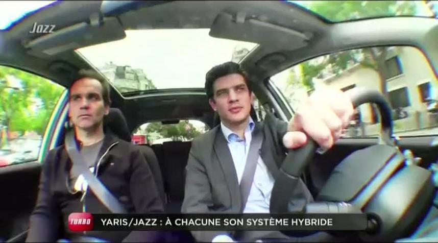 comparatif : toyota yaris hsd / honda jazz hybride (emission turbo