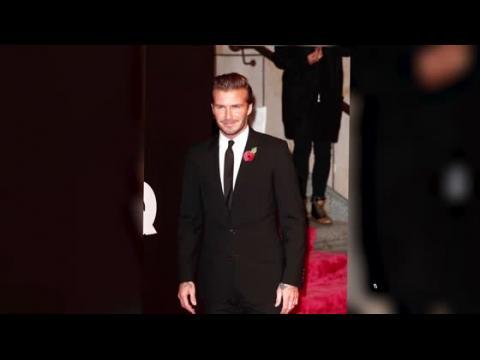 David Beckham est couronné l'homme le plus chic de l'année