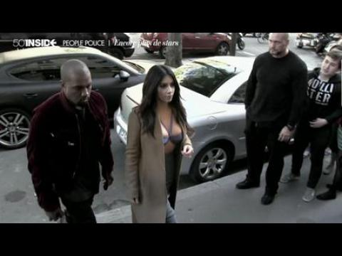 Quand Kim Kardashian oublie son chemisier - ZAPPING PEOPLE DU 20/04/2015