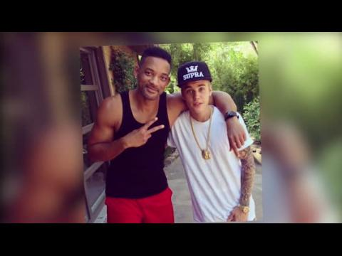 Justin Bieber passe du temps avec Will Smith