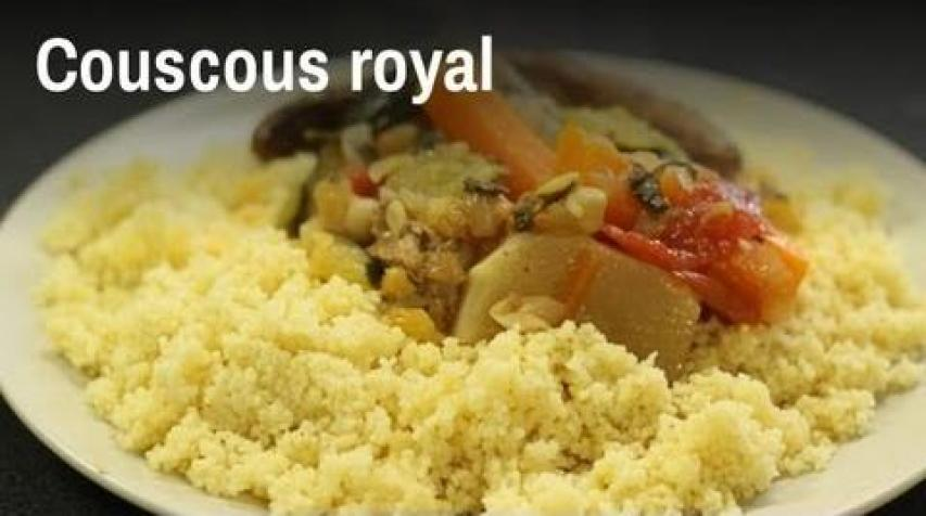 recette couscous royal simple