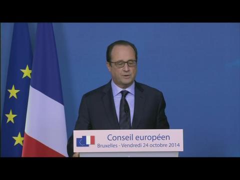 """Hollande espère ne pas """"recevoir de nouvelle lettre""""de Bruxelles"""