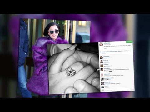 On a vu Lady Gaga après l'annonce de ses fiançailles avec Taylor Kinney
