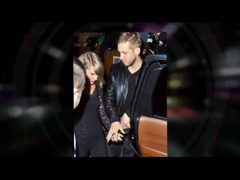 Taylor Swift main dans la main avec Calvin Harris