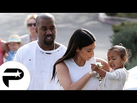 Kim Kardashian et Kanye West fêtent Pâques en famille.