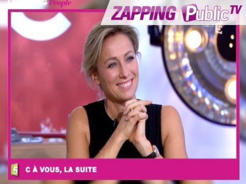 "Zapping Public TV n°838 : Anne-Sophie Lapix : ""Tout passe dans la bouche d'Adriana Karambeu !"""