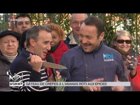 Elie Semoun assassine Dieudonné - ZAPPING PEOPLE DU 03/02/2015